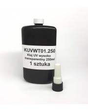 <b>KUVWT01.250 - Klej UV wysoko transparentny 250ml</b>