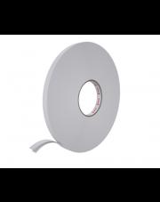 <b>2P3100 Pianka biała PE dwustronnie klejąca  gr.1mm 19mm x 5m  </b>