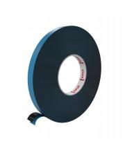 <b>2P1151 Pianka czarna PE dwustronnie klejąca gr.1.5 mm  6 mm x 50m<b>