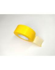 <b>1T3177 Taśma jednostronnie klejąca tkaninowa żółta gr. 0,22mm HM 34mm x 50m</b>