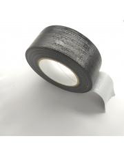 <b>1T3454 Taśma jednostronnie klejąca tkaninowa czarna gr. 0,15mm HM 48mm x 45m</b>