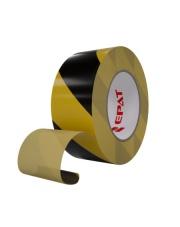 <b>1F3601 Taśma jednostronnie klejąca oznaczeniowa żółto/czarna 150mm x 33m</b>