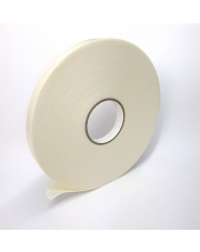 <b>2P11200 Pianka biała PE dwustronnie klejąca  gr.2,0mm 19mm x 25m</b>