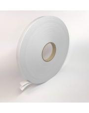 <b>2P1210 Pianka biała dwustronnie klejąca  gr.1mm 9mm x 50m</b>