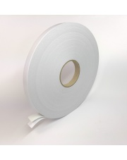<b>2P1210 Pianka biała dwustronnie klejąca gr.1mm 30mm x 50m</b>