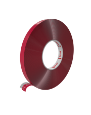 <b>PT100 Taśma akrylowa przeźroczysta gr.1.0mm 6mm x 33m</b>