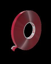 <b>PT100 Taśma akrylowa przeźroczysta gr.1.0mm 9mm x 33m</b>