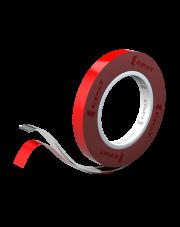 <b>PT100 Taśma akrylowa przeźroczysta gr.1.0mm 9mm x 10m</b>