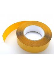 <b>#1T3177 Kółeczka fi 28mm tkanina żółta premium 1000 szt/rolka</b>