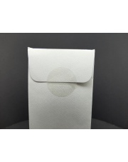<b>F1110 Kółeczka 1-str klejące foliowe transparentne fi 50 mm 2000 szt/rolka</b>