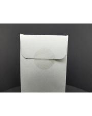 <b>F1110 Kółeczka 1-str klejące foliowe transparentne z perforacją fi 28mm 2000 szt/rolka</b>