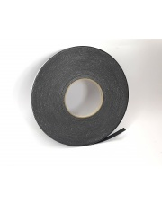 <b>1P1112 Taśma piankowa PE 1-str klejąca czarna gr. 0,8mm 9mm x 30m</b>